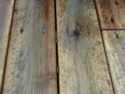 rust mold stained deck
