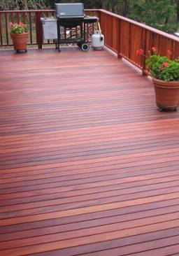 Tigerwood Astronium Decking Technical Specification Data