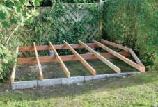 sub-structure deck frame