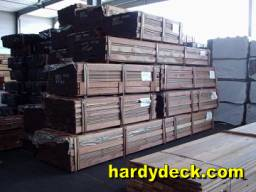 brazilian walnut decking stock