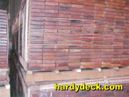 decking board separated stickers